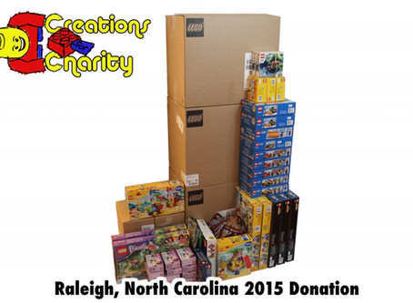 Creations for Charity 2015 – Raleigh, NC Donation
