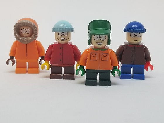 South Park Boys (Kenny, Cartman, Kyle, and Stan)