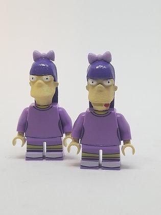 Simpsons Sherri and Terri