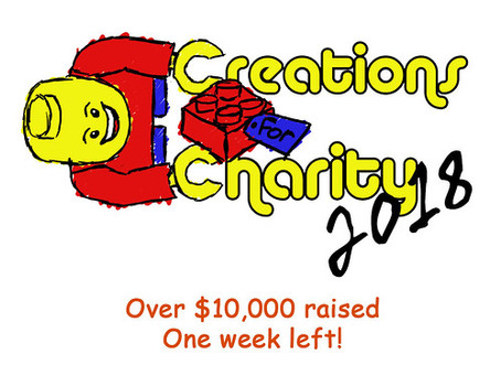 Over $10,000 and one week left!