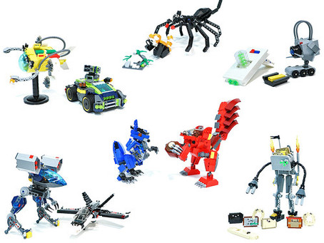 New items for sale from LEGO designers