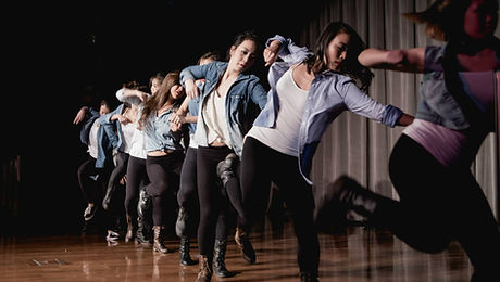 sorority talent show dance performance