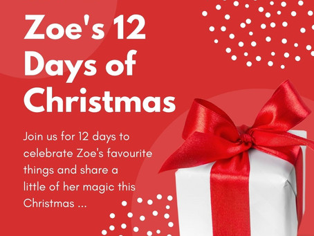Zoes 12 Days of Christmas
