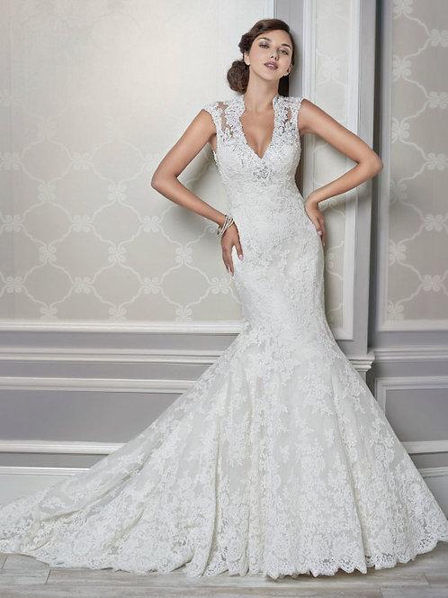 Kenneth Winston Wedding Dress 1609 size 14