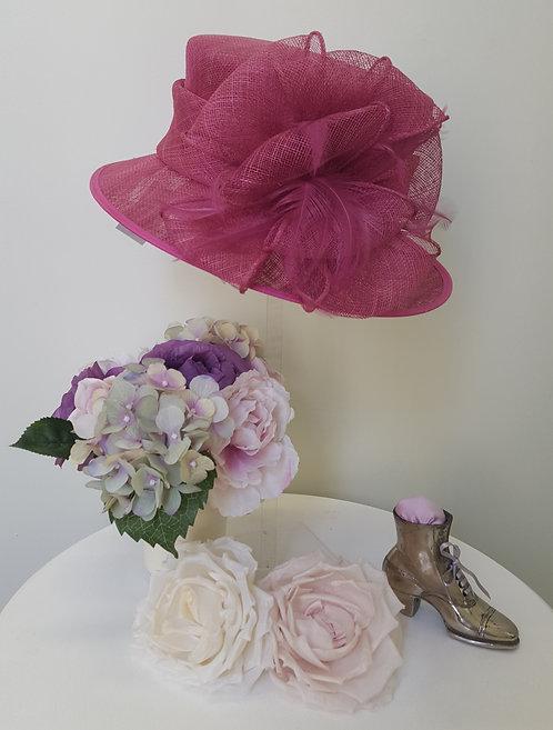 Ladies Gorgeous Magenta Hat