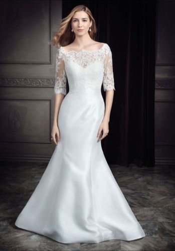 Stunning Ella Rosa Bridal gown 'BE347' UK size 16