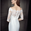 Thumbnail: Stunning Ella Rosa Bridal gown 'BE347' UK size 16