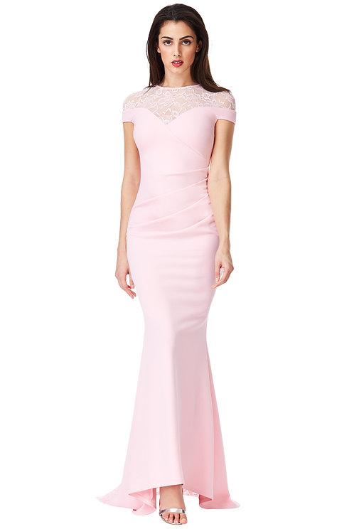 Pink prom, evening, cruise night dress size 12