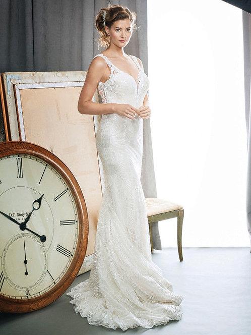 Gorgeous Kenneth Winston 17102 Wedding Dress size12