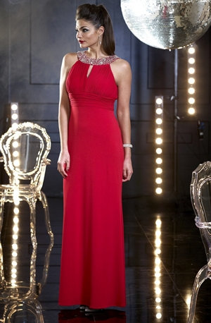 Stunning Veromia Red Occasion Wear Dress sizes 10/14