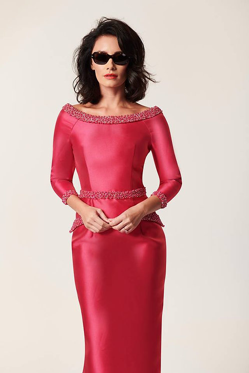 House of Mooshki HM84324 Cerise Mother of the Bride Ss 18