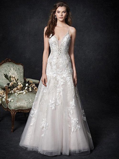 Gorgeous Kenneth Winston 1758 Wedding Dress size UK 14
