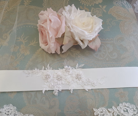 All Things Darcy Ivory Netherfield Sash