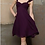 Thumbnail: Gorgeous Plum Chiffon dress by Watters. '187' UK12 US10