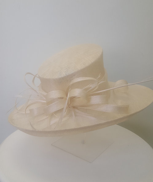 Gorgeous Ivory Hat
