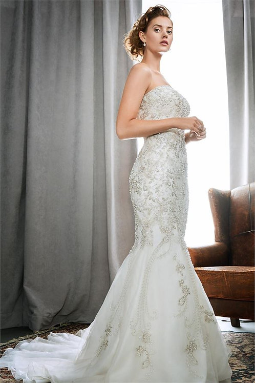 Stunning Kenneth winston Bridal Gown '1720' UK size 14