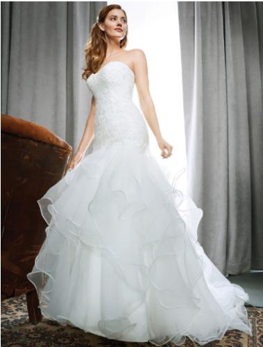 Gorgeous Kenneth Winston 1702 Wedding Dress size UK 14