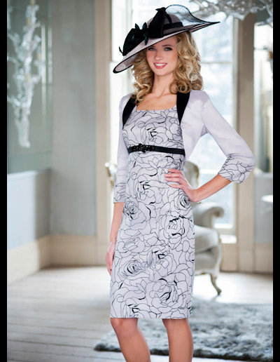 Rose Ash Mother of the Bride outfit by Ispirato IP955. UK 14