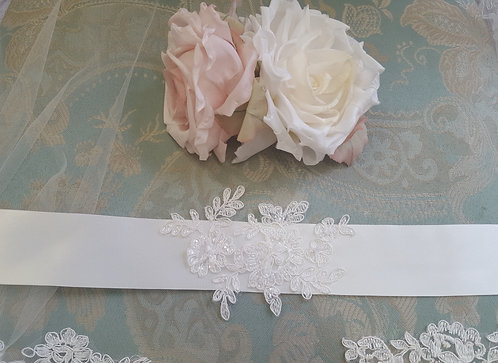All Things Darcy - Kitty Ivory Sash