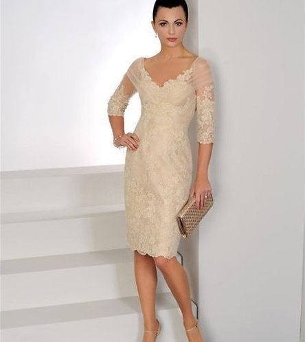 Gold Mother of the Bride outfit by Irresistible IR8505. UK 10