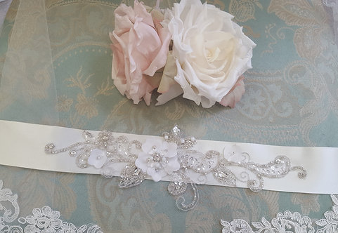 All Things Darcy  Ivory Pemberley Sash