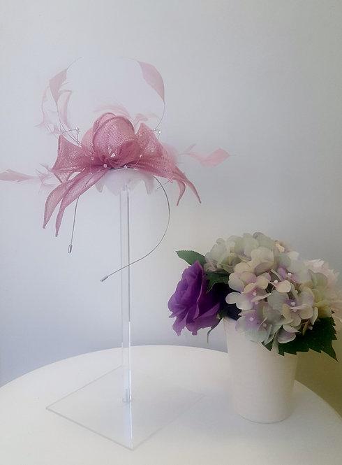 Stunning Girly Pink Fascinator