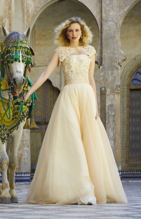 Stephanie Allin Couture Amber gown uk size 12