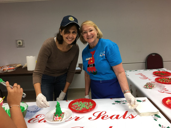 Streetsville Rotary is the Engine Behind the Easter Seals Kids' Christmas Party