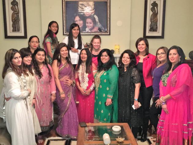 Celebrating Diwali with Great Ladies