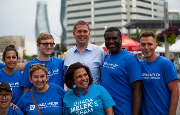 Team Melek with the Leader