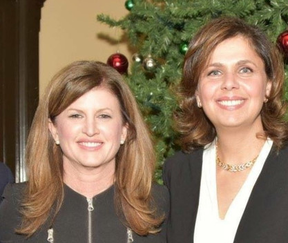 With Interim Leader Rona Ambrose Celebrating Christams on the Hill