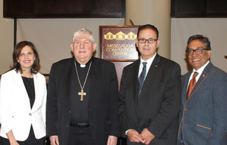 Mississauga Prayer Breakfast with Cardinal Collins