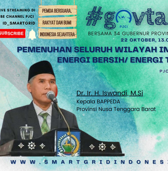 "#GOVTALKS1 ""KEPALA BAPPEDA #NusaTenggaraBarat BERSUARA, RAKYAT DAN BUMI INDONESIA SEJAHTERA"""