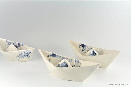 Bateau origami / Origami sailboat
