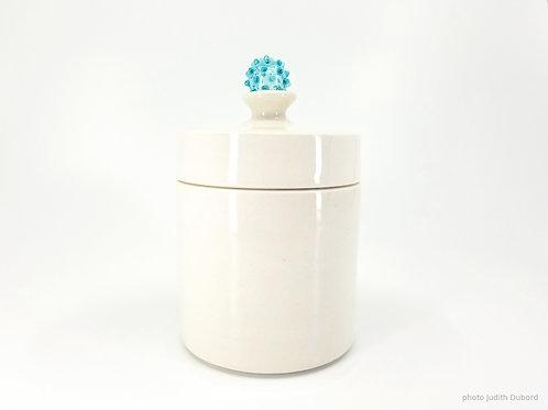 Boîte céramique et verre