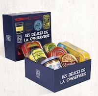 """641 - Le coffret """"Les délices de la conserverie"""""""