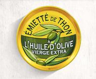 591. Thon - Emiettes de thon à l'huile d'olive vierge extra 80gr