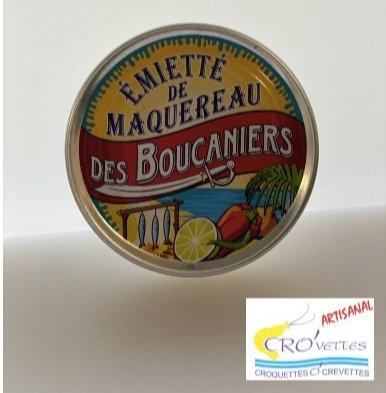 512. Maquereaux - Emiettes de maquereaux boucaniers 80 gr