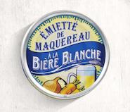 506. Maquereaux - Emiettes de maquereaux à la bière blanche 80 gr