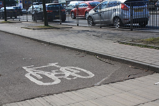 Shirley cycle track