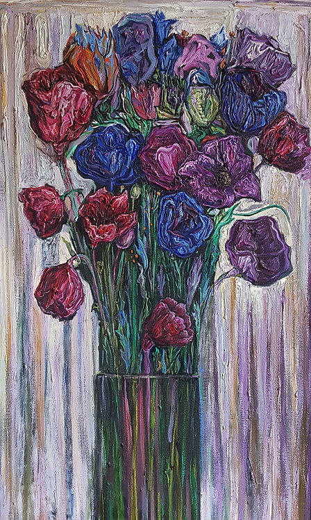 Flowers on a Bright Background