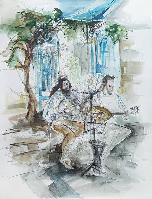 Oriental Music in Safed