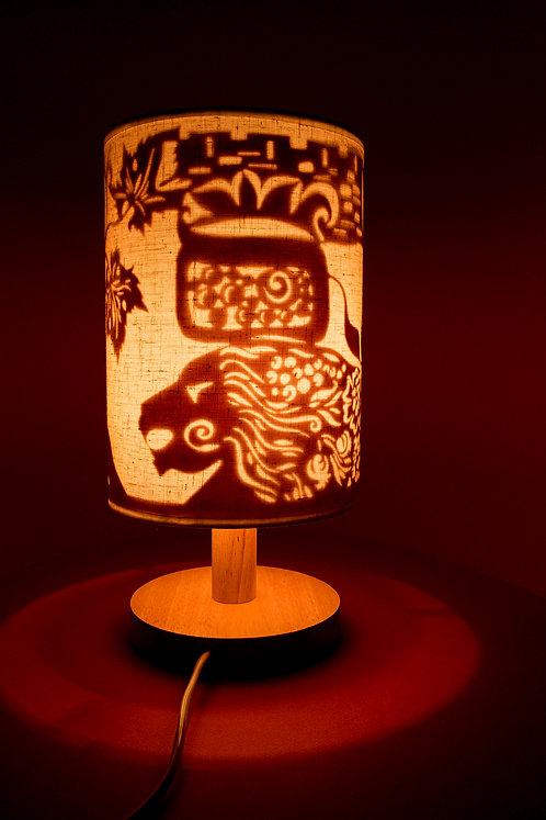 Night Lamp «Jerusalem Lion»