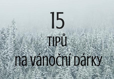 15 tipů na vánoční dárky