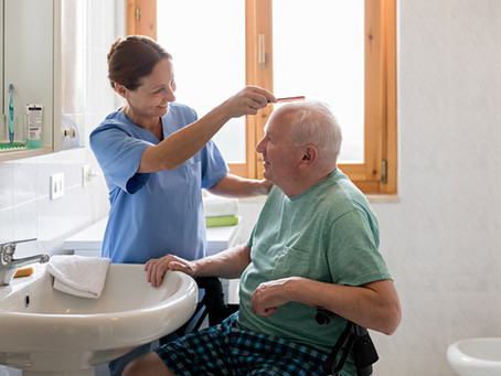 """Senior In-Home Care Issues:  """"I don't need to shower"""""""