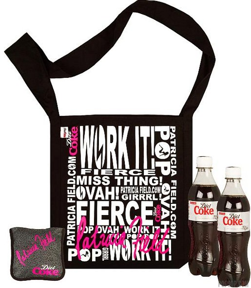 Diet Coke/Patricia Field Bag
