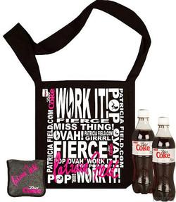 Diet Coke/Patricia Field Bag