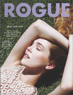 magazine cover by Mariah Nicole