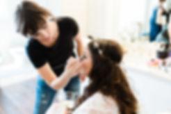 Mariah Nicole Makeup Artist and bride