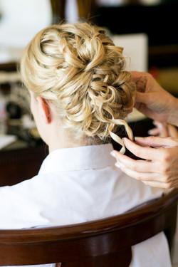 bridal hair by Mariah Nicole Beauty